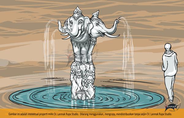 air-mancur-gajah