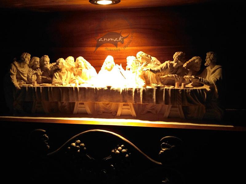 jasa-pembuatan-patung-relief-perjamuan-terakhir